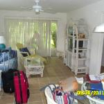 Living room (and luggage)
