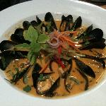 Our Fresh Mussels in Curry Sauce
