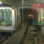 Bund Sightseeing Tunnel Foto