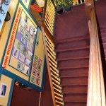 Les escaliers, le seul gros soucis quand on a une énorme valise!!!
