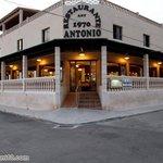 Restaurante Antonio, Entrada