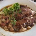 子牛肉、柔らかくてオイシイ~。