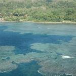 Landeanflug auf Tanna/Vanuatu