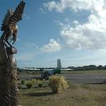 ...der Flughafen auf Tanna...