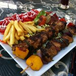 chicken shish tawouk :) huge and tasty