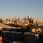 Blick auf Seattle bei Sonnenuntergang