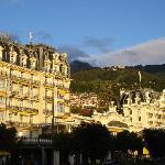 Prachtvolle Hotels an der Uferpromenade von Montreux