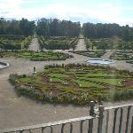 il parco del Palazzo Rundale
