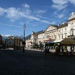 This is AOSTA town main square