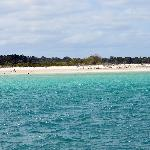 view of Fraser Island on the way to Platypus Bay