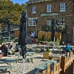 Garden seating at the Grand Junction Arms
