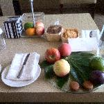 Executive Sea View Suite Daily Food Ration