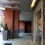 entrance on Champa St.