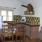 Cave kitchen