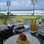 Petit-déjeuner au Breeze Restaurant