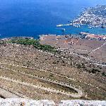 Dal Monte S. Caterina verso il porto di Favignana