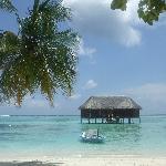 Honeymoon water bungalo