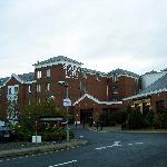 Main entrance & outside of hotel