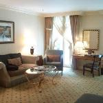 Spacious and comfy lounge area to the room