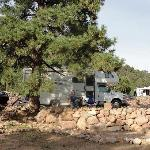 RV site at Mountaindal RV Resort