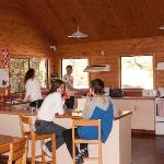 Communal kitchen and dining
