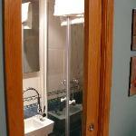 baño comleto en armario