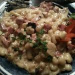 This is a picture of the delicious spatzle I had when I was there in November 2010. It's AMAZING