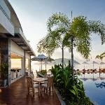 Relax by the waterfront bar and lounge.