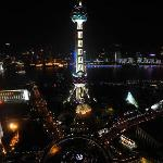View of Oreintal Pearl Tower at night