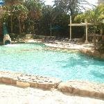 Main outdoor pool and surround