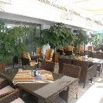 Terrace of Granit Hotel