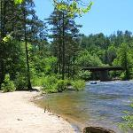 Chatooga River at Hwy 76 Bridge