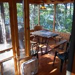 Screened Porch at Coffeetime