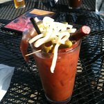 Bloody Mary as good as home made!