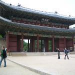 敦化門(トンファムン):昌徳宮入口の門