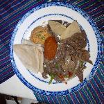 Un ejemplo de la deliciosa comida