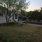 Garden & Pool outside