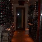 Wine Cellar in the main bar