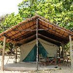 our river-view safari tent