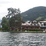 Hotel from lake