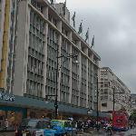 Oxford Street and John Lewis