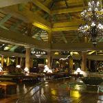 El lobby del hotel. Excelente ambientacion
