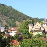 Le château et le village
