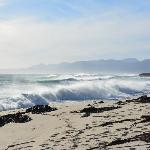 Rough seas down at the bay