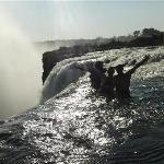On the Edge of Victoria Falls!!!!