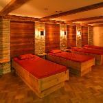 Spa mit Panoramaruheraum, Dampfbad, Saunen und mehr - Hotel Lamark