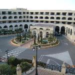 Hotel Excelsior Landseite