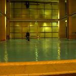 Pool in Grün