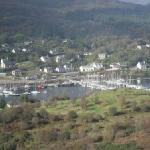 View of Tarbert from the Kintyre Way