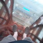 glass floor